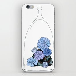 """Proliferate""/ Echeveria perl von nurnberg iPhone Skin"