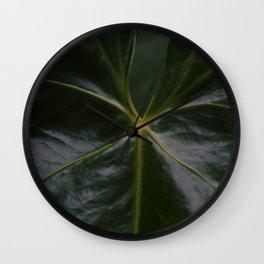 Plant Wall Clock