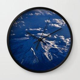 Mt. Hood Aerial Wall Clock