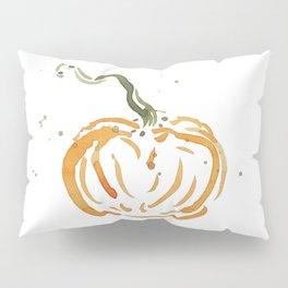 Abstracted Pumpkin Pillow Sham