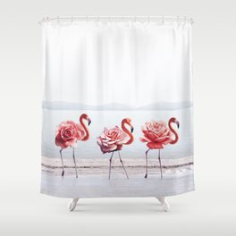 The Pink Dance Shower Curtain