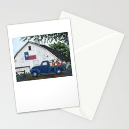 Texan Flower Farm Truck Stationery Cards