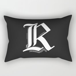 Letter R Rectangular Pillow