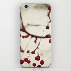 dark berries iPhone & iPod Skin