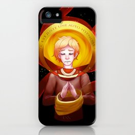 Autohypnosis iPhone Case