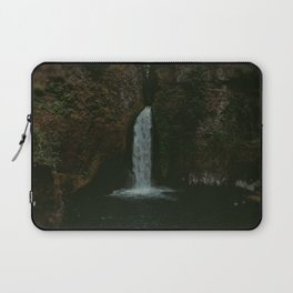 Wahclella Falls x Oregon Waterfall Laptop Sleeve