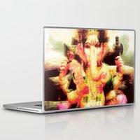 ganesh Laptop & iPad Skins featuring Ganesh by nuzzocozzamara