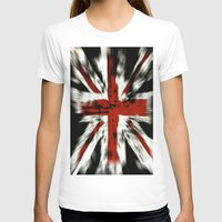 uk T-shirts featuring UK Flag by WonderfulDreamPicture