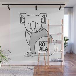 Koala, Wildlife of Australia Wall Mural