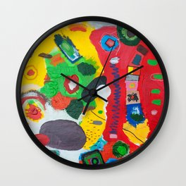 Cell Membrane Wall Clock