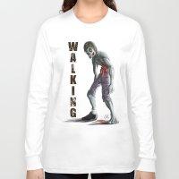 walking dead Long Sleeve T-shirts featuring Walking Dead by FulgenSHOW Art