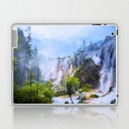 Love Affair By A Waterfall Laptop & iPad Skin