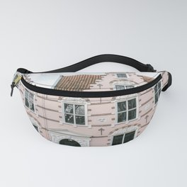 The pink house the three hedgehogs   Hoorn   Netherlands   old city Fanny Pack