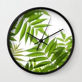Embrace of a Rowan Tree Wall Clock