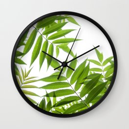 Embrace of a Rowan Tree Wall Clock