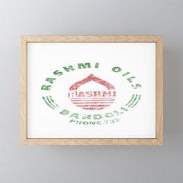 Rashmi Oils Vintage Framed Mini Art Print