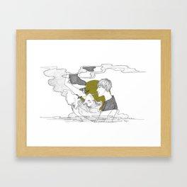 Breath Framed Art Print
