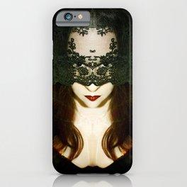 Madame Mayhem iPhone Case