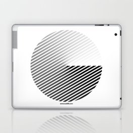 Stripes Can be in a Disc Laptop & iPad Skin