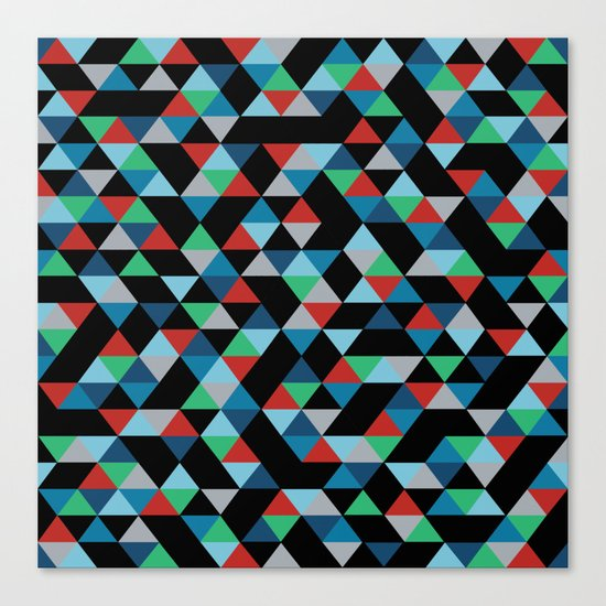 Triangles 4B Canvas Print