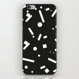 Clashing black iPhone Skin