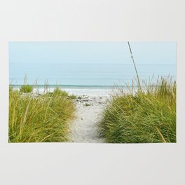Beach Path to the Sea Rug