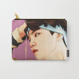 BTS SUGA SUMMER FANART Carry-All Pouch