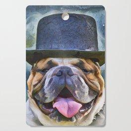 English Bulldog  Cutting Board