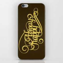 Stay Happy iPhone Skin