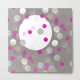 Pink Perfection - SPOTS Metal Print
