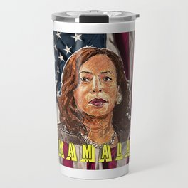 Kamala Harris Travel Mug