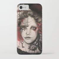 inner demons iPhone & iPod Cases featuring INNER DEMONS by Sheena Pike ART