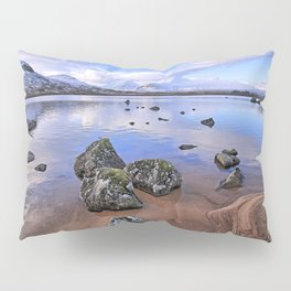 Rocking it on Rannoch Moor; Scottish highlands Pillow Sham