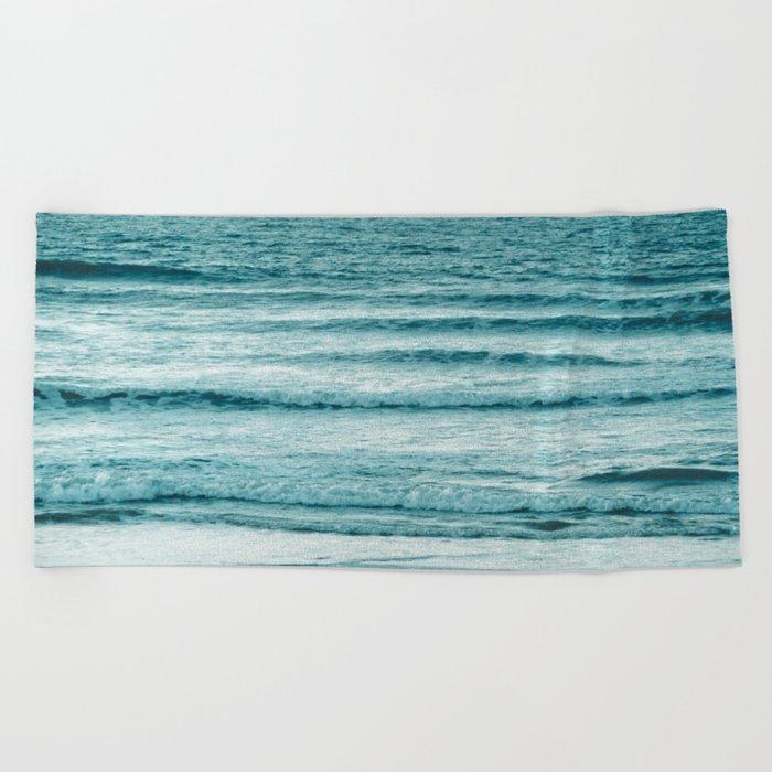 Ocean Ripples Beach Towel