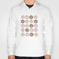 doughnut Hoodies featuring Doughnut Ornaments by stylishbunny