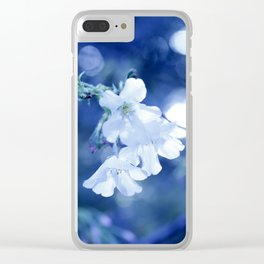 to dissolve into the sky Clear iPhone Case
