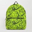 An abstract geometric pattern . Yellow green pattern . by fuzzyfox85