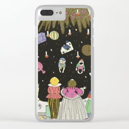 Vintage Christmas - Children's Clothing Fashion Plate, 1914 Clear iPhone Case
