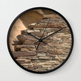 Rock Wall Clock