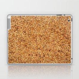 Golden linseed Laptop & iPad Skin