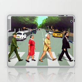 A(llen)bby road - TLV Laptop & iPad Skin