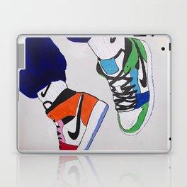 Sneaker Colorful Air Jordan 1's Laptop & iPad Skin