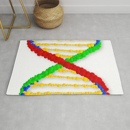 Twin DNA Strands Rug