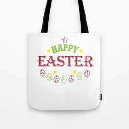 Happy Easter Cute Women Men Kids Design Holiday Gift Tote Bag
