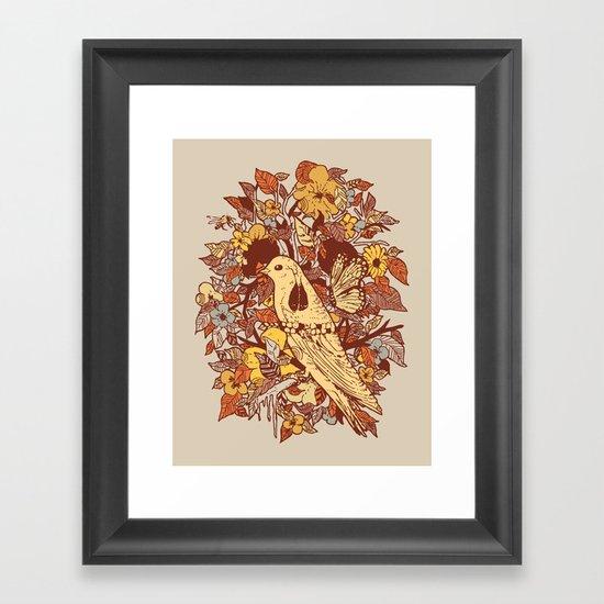 Strange and Beautiful Framed Art Print