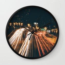 PHILADELPHIA LONG EXPOSURE Wall Clock