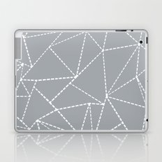 Abstract Dotted Lines Grey Laptop & iPad Skin