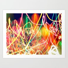Sea of Lights Art Print