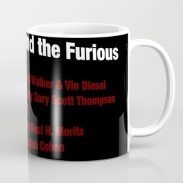 The Fast and the Furious cast & crew Coffee Mug