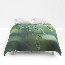 dew drop morning Comforters
